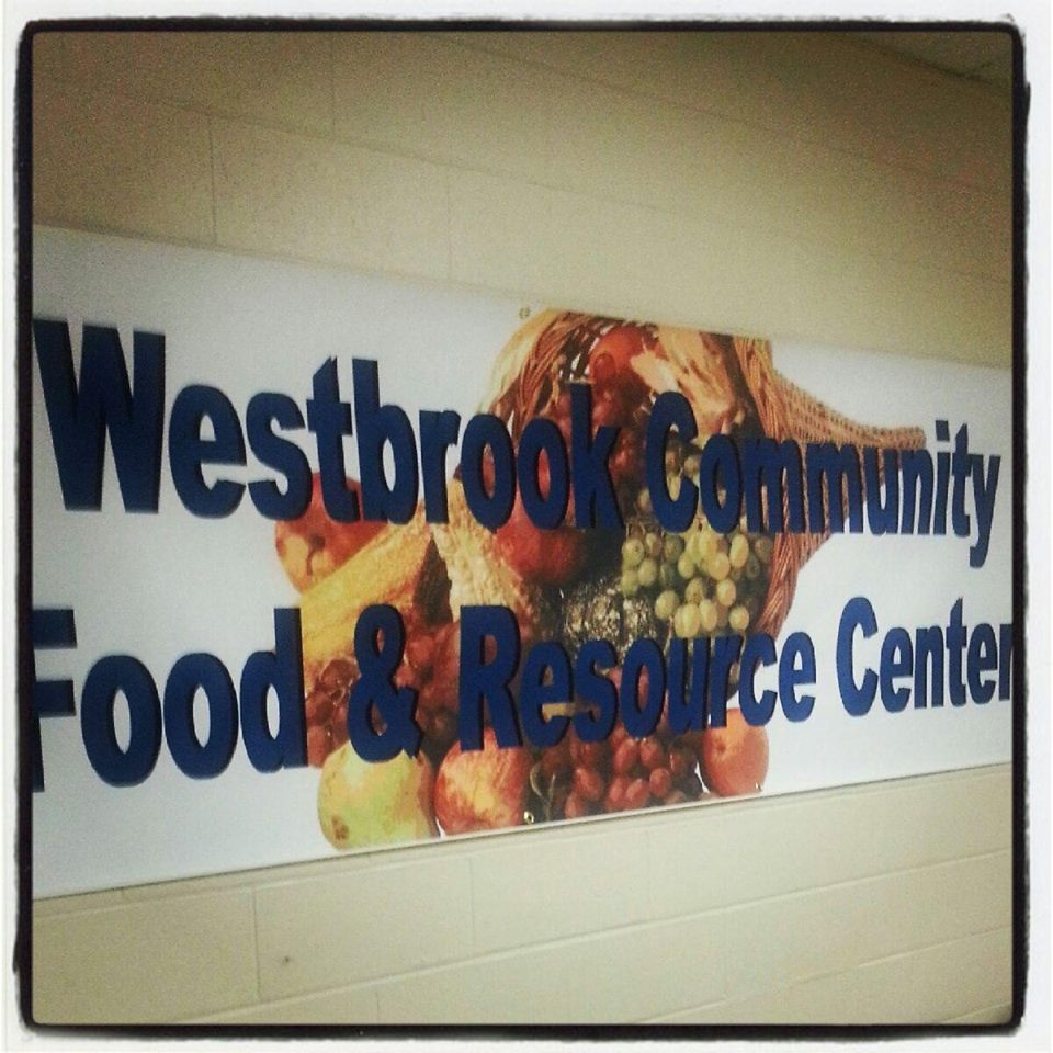 Westbrook Community Food and Resource Center Banner