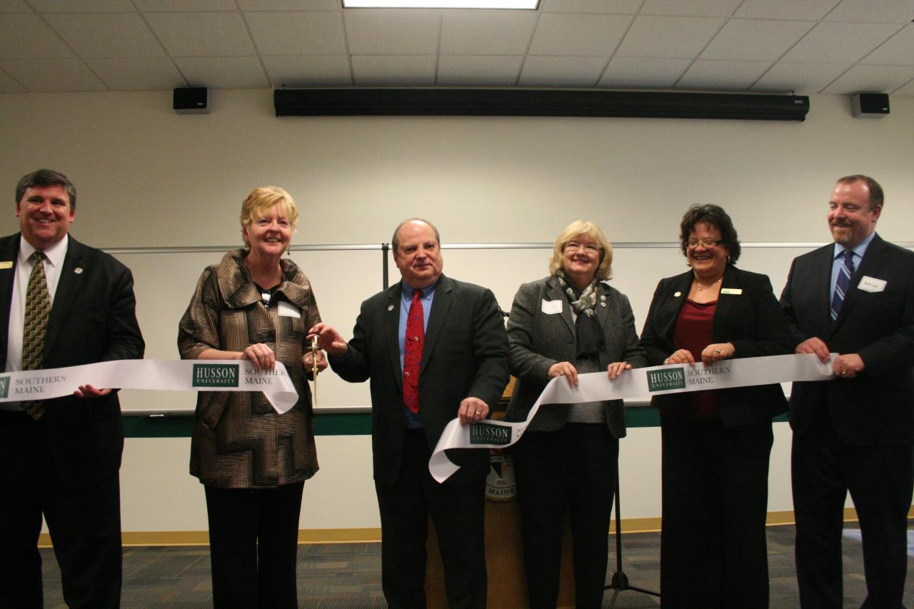 Husson University Ribbon Cutting